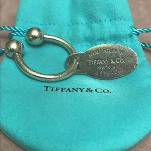 Return to Tiffany Key chain